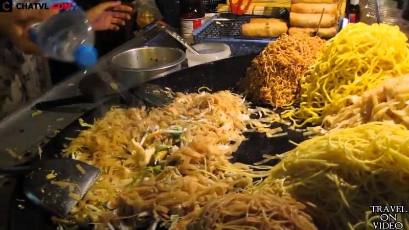 Pad Thai là món ăn thân quen dọc vỉa hè (Nguồn: Sưu tầm)