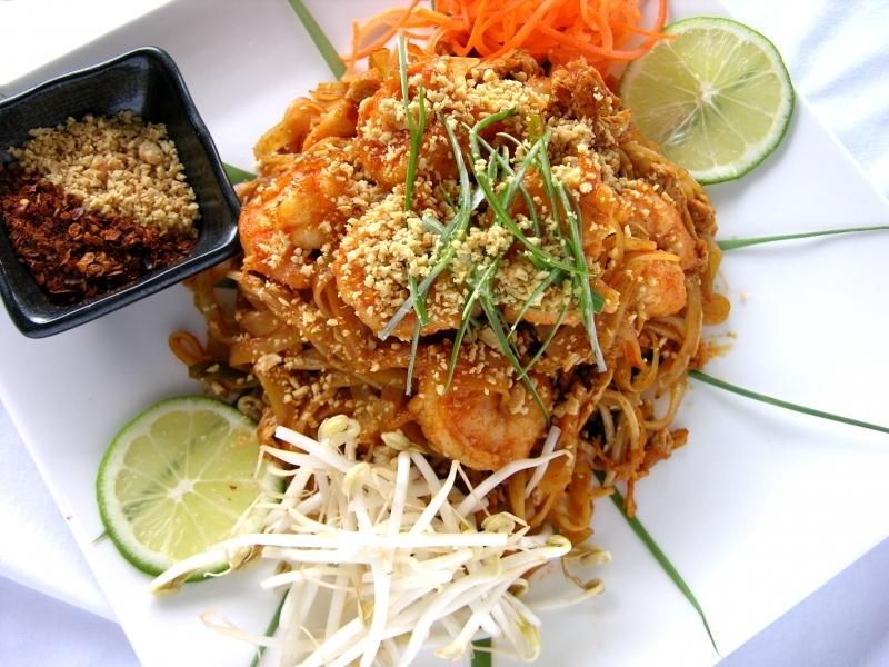Pad Thai lại cũng là một món ăn sang chảnh ở một số nhà hàng (Nguồn: Sưu tầm)