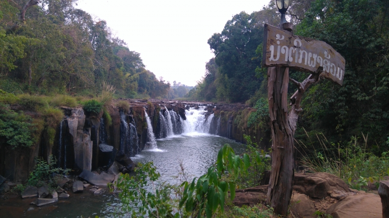 Vẻ đẹp hoang sơ của thác nước Pakse
