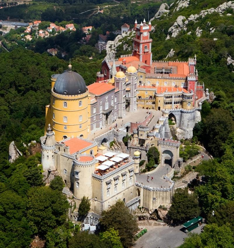 Palacio da Pena: cung điện cổ nhất theo khuynh hướng lãng mạn châu Âu