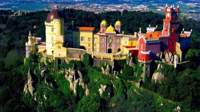 Palacio da Pena - Cung điện cổ nhất theo khuynh hướng lãng mạn châu Âu