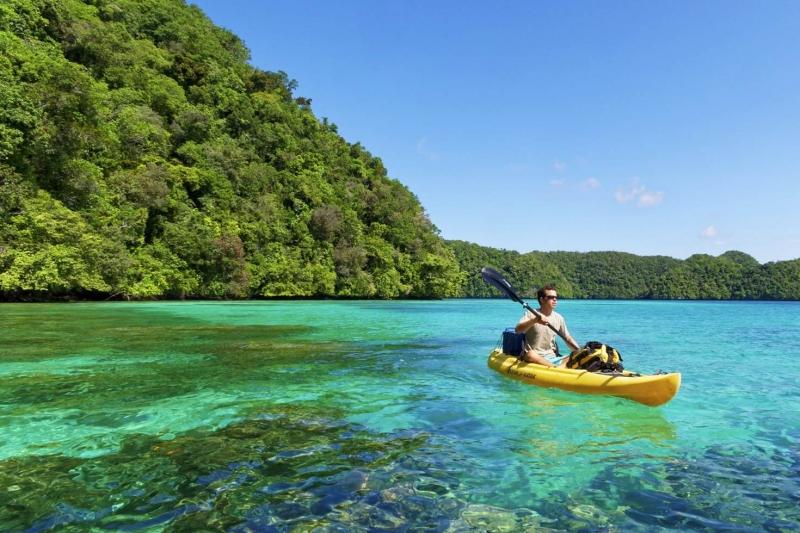Khám phá biển tại đảo Palau