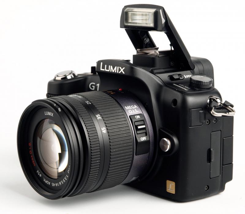 Panasonic Lumix G1 - máy ảnh DSLR nhỏ nhẹ nhất