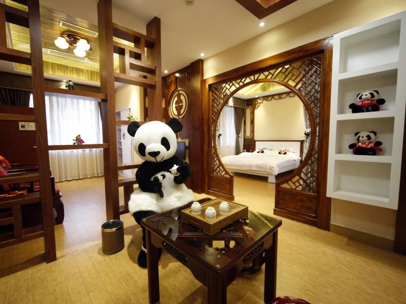 Panda Hotel, núi Nga Mi, Trung Quốc