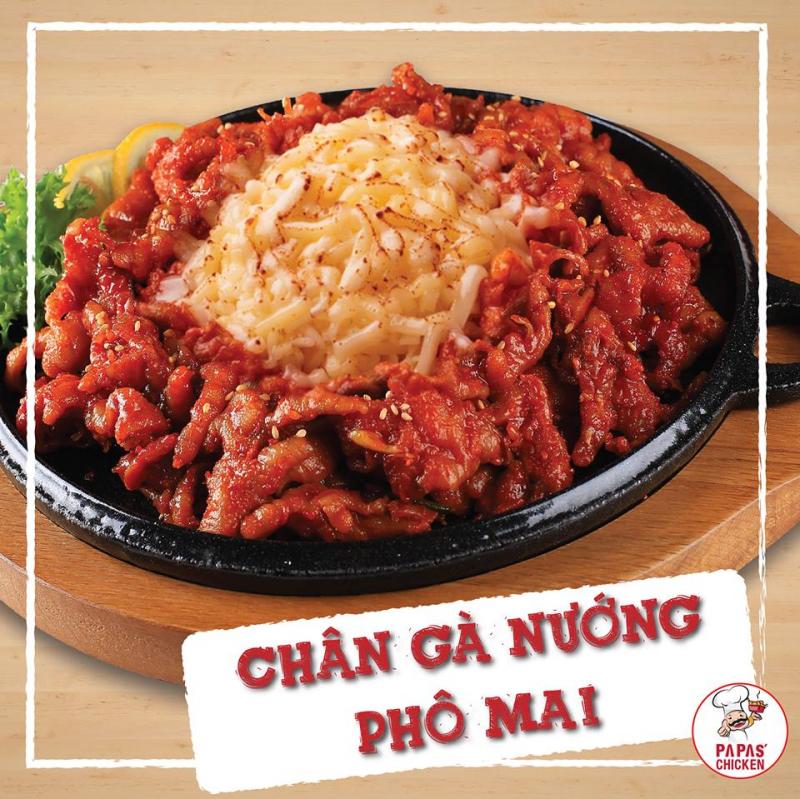 Nhà hàng Hàn Quốc Papa's Chicken