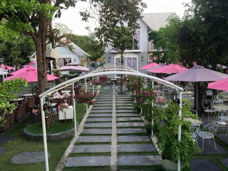 Khuôn viên của Paradise Coffee