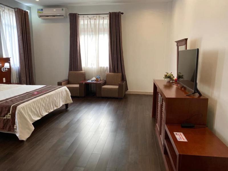 Khách sạn được bài trí đầy đủ tiện nghi