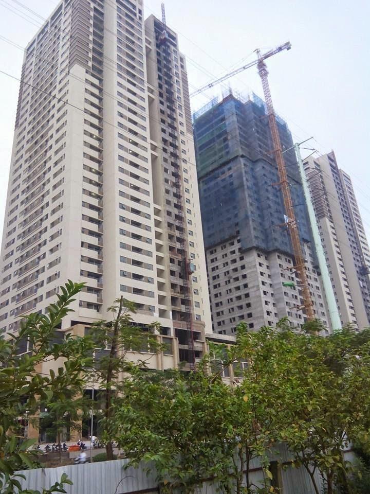 Hình ảnh bên ngoài dự án Times Tower