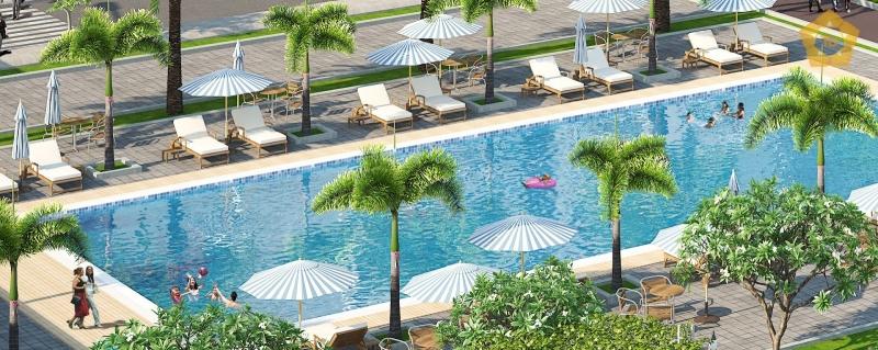 Hình ảnh bể bơi Paragon Tower