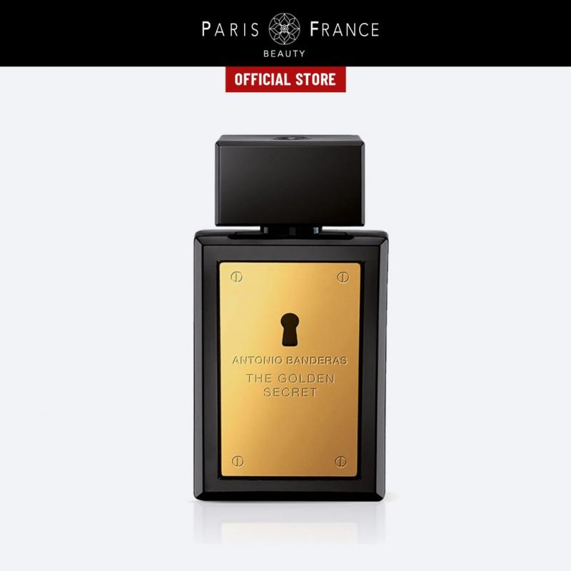 Paris France Beauty - Nước Hoa Nam Antonio Banderas Golden Secret EDT