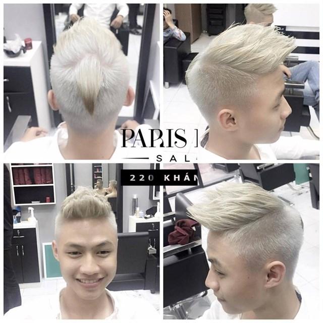 Một quả đầu cực chất tại Paris Hair Salon.