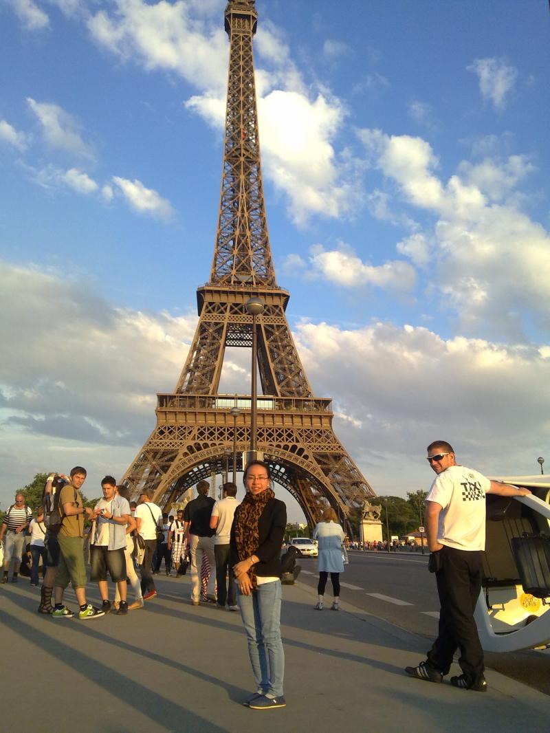Paris đẹp và đáng nhớ khi phải chia xa