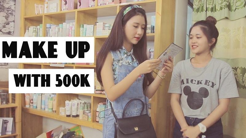Hotgirl Quỳnh Anh shyn với thử thách mua hàng 500k tại Parkie