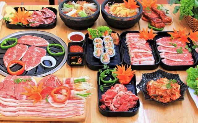 Hấp dẫn với món ăn Hàn Quốc