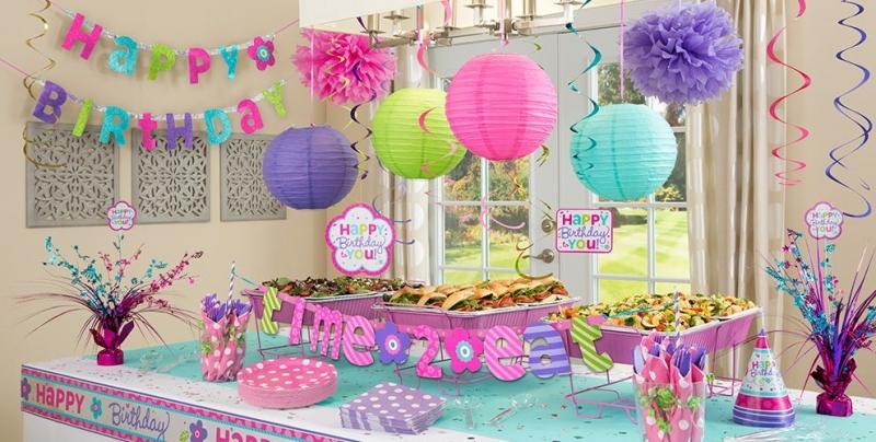 Một mẫu trang trí sinh nhật mà Party Shop đã thực hiện