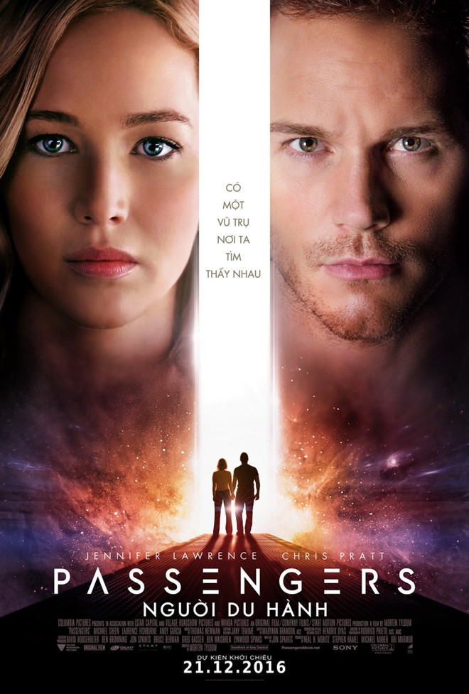 """Bộ phim """"Passengers"""" (Người du hành)"""