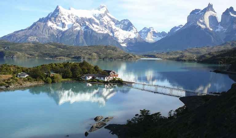 Khung cảnh nên thơ ở Patagonia, Chile