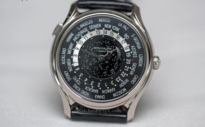 Patek Philippe Platinum World Time - Giá: 4,000,000$