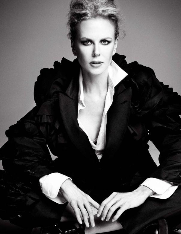 Bức ảnh chụp Nicole Kidman ấn tượng trong quảng cáo trang phục