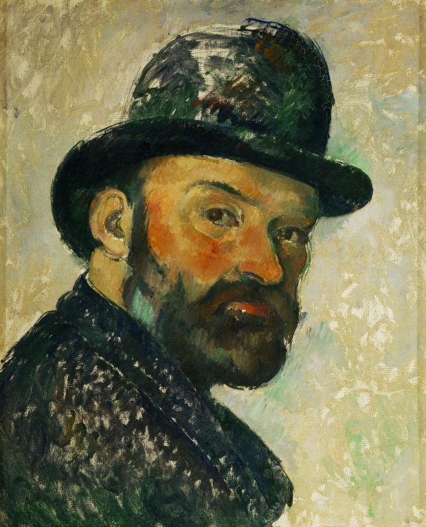 Tự họa của Paul Cezanne
