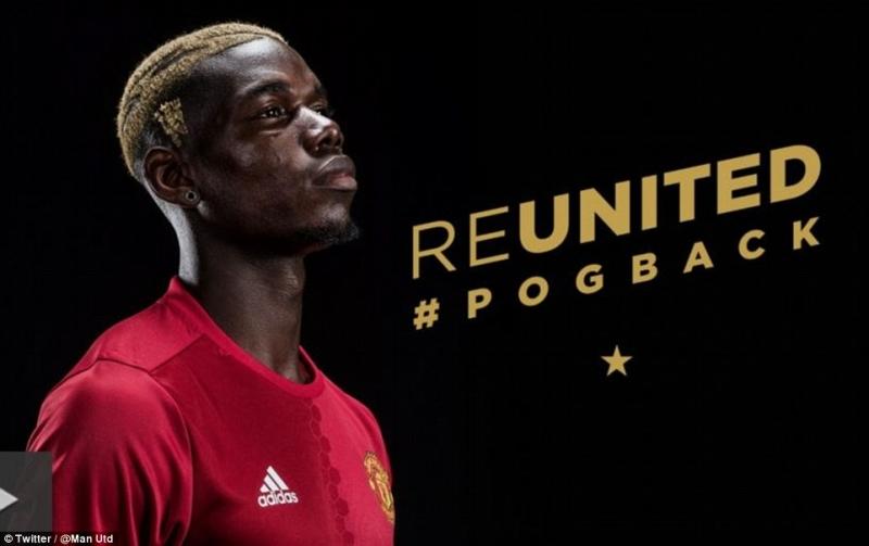 Paul Pogba đắt giá nhất thế giới