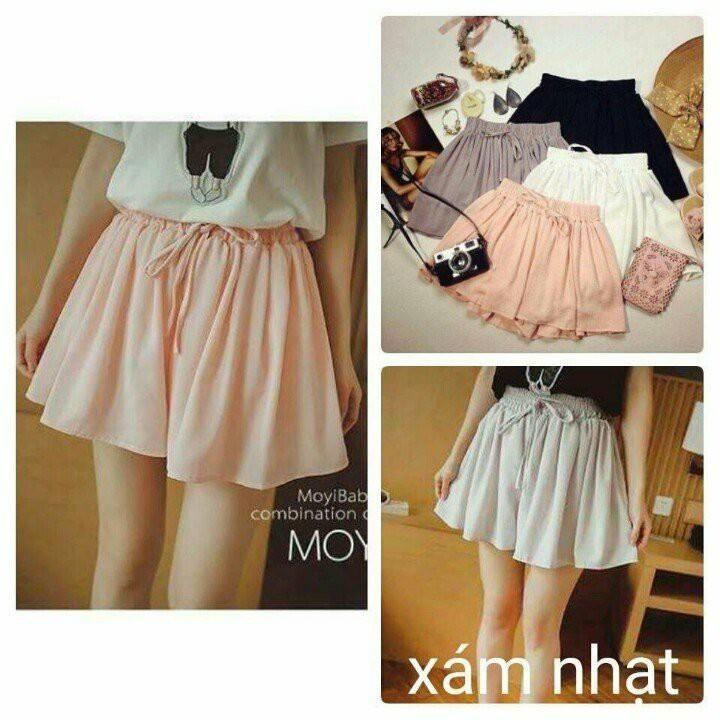 Quần váy voan (hình ảnh được lấy từ fanpage của shop)