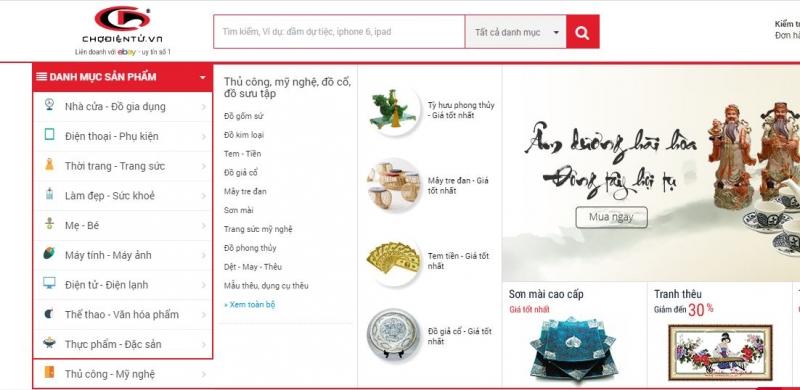 Chodientu.vn là một sản phẩm khá thành công tại Việt Nam của Peacesoft