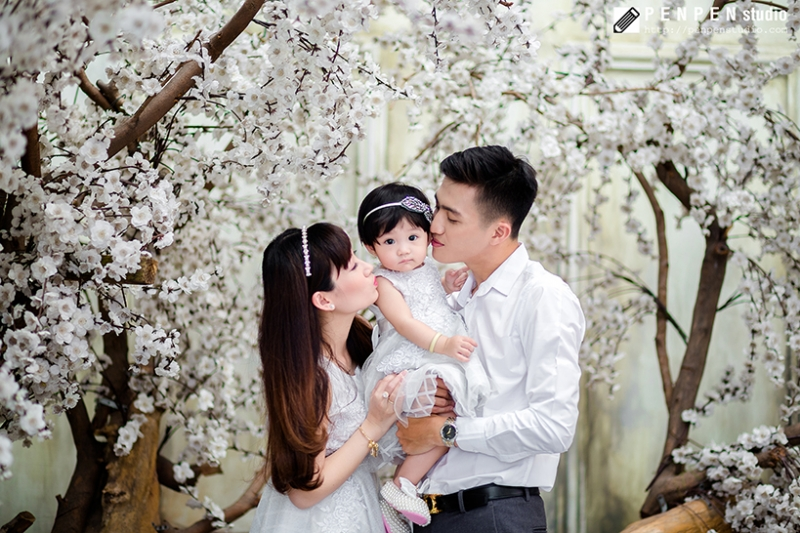 PenPen Studio chụp ảnh gia đình