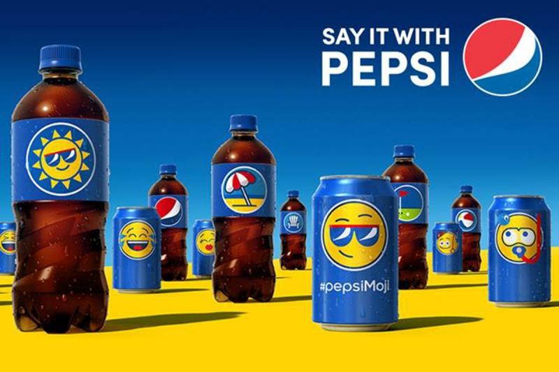 Sản phẩm nước ngọt của Pepsi
