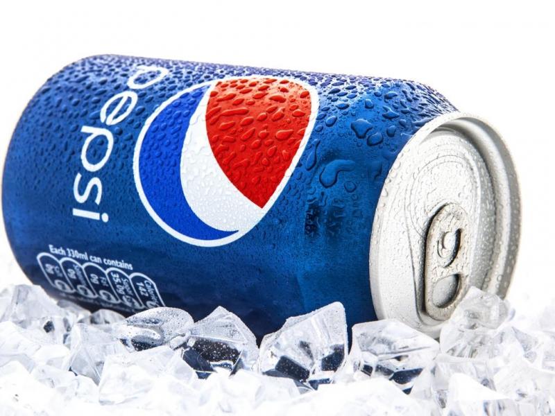 Thiết kế trẻ trung của Pepsi.