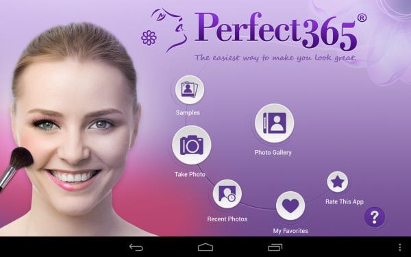 Ứng dụng chỉnh sửa ảnh Perfect365