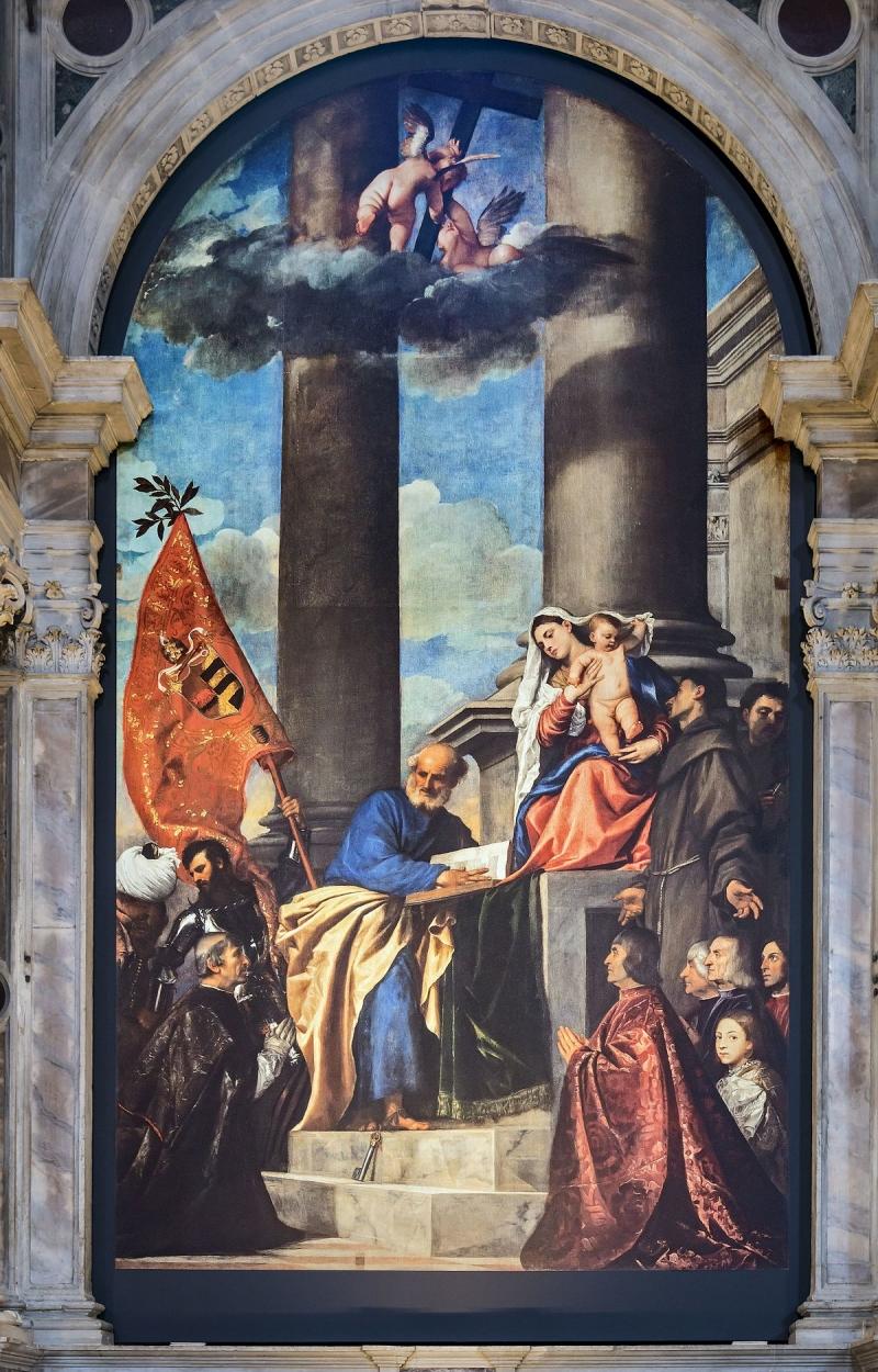 San Zaccaria Altarpiece - Giovanni Bellini