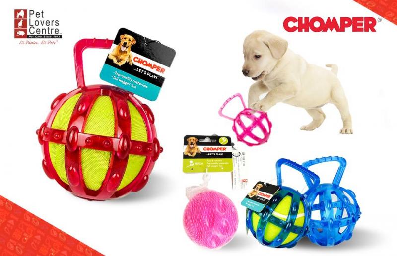 Đồ chơi được làm từ nhựa dẻo kết hợp với banh tennis, phù hợp với những bé năng động, thích chơi đùa.