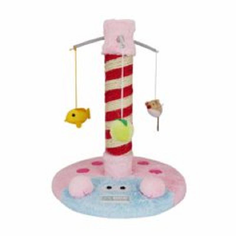 Trụ cào móng kèm đồ chơi cho mèo mức giá 400 000 đồng