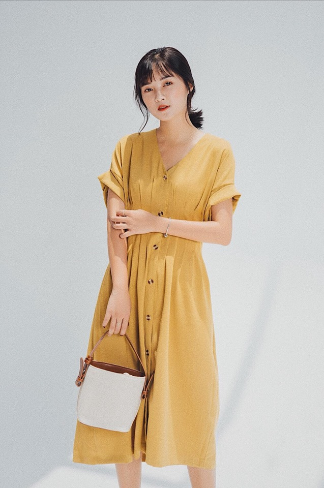 Váy sơ mi công sở tại Petbychang