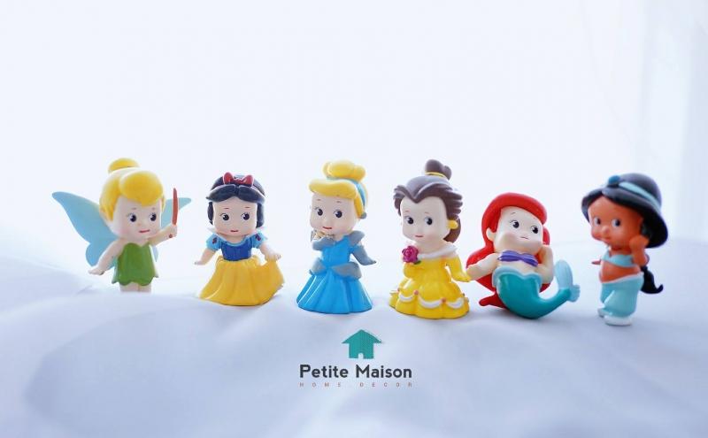 Set 6 tượng công chúa Disney