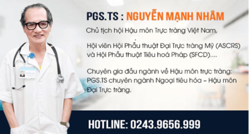 Phó Giáo sư, Tiến sĩ Nguyễn Mạnh Nhâm