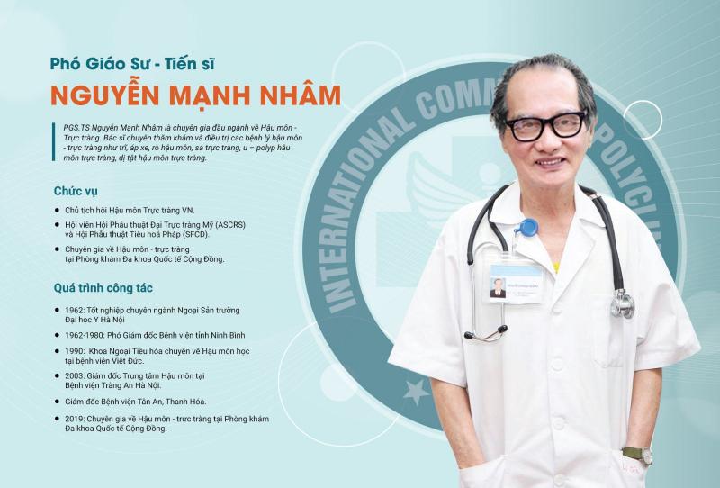 PGS. TS. BS Nguyễn Mạnh Nhâm