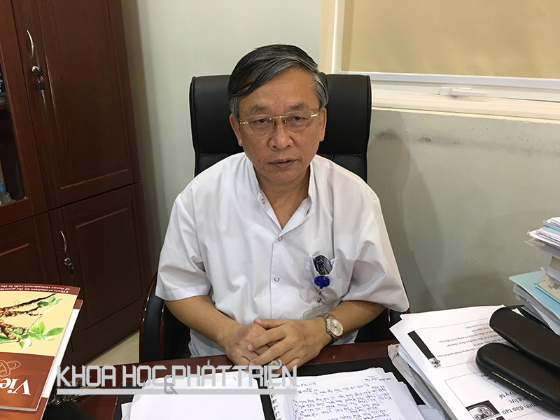 PGS.TS Nguyễn Tiến Quyết