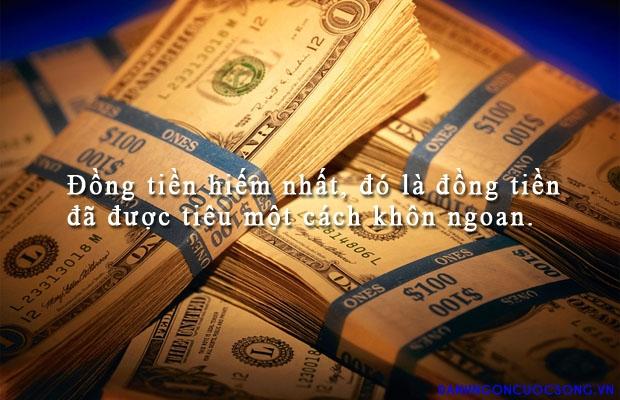 Sử dụng đồng tiền khôn ngoan