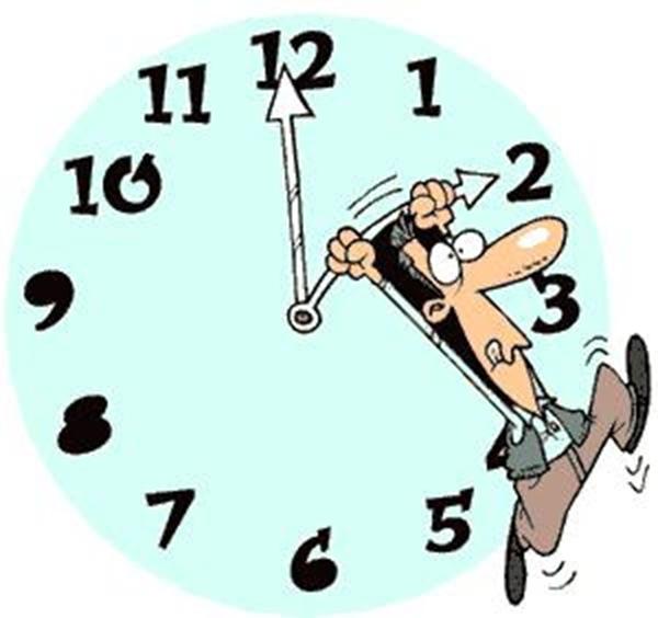 Chú ý đến thời gian và sức khỏe