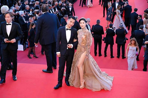 Phạm Hồng Phước và Ngọc Thanh Tâm tại Liên hoan phim Cannes - Pháp