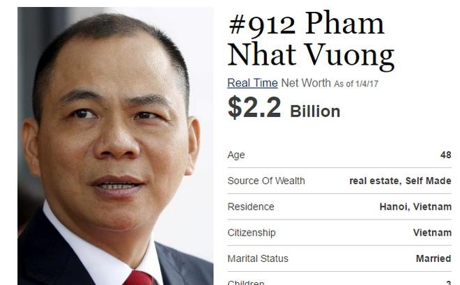 Một trong những người giàu nhất thế giới
