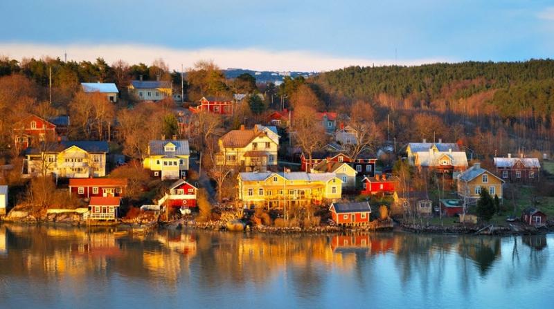 Phong cảnh nên thơ tại Phần Lan