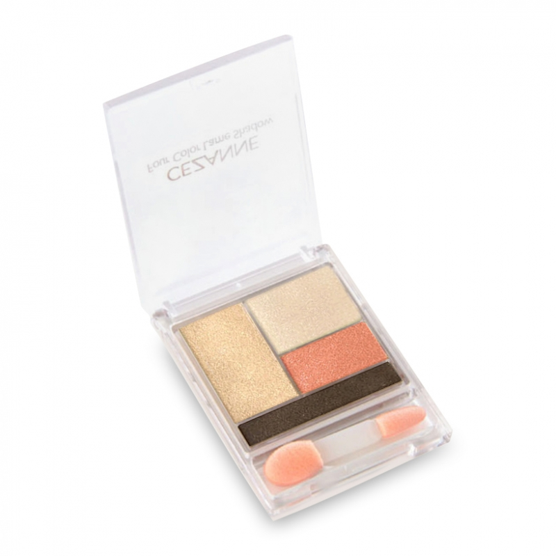 Phấn mắt Cezanne Four Color Lame Shadow 01