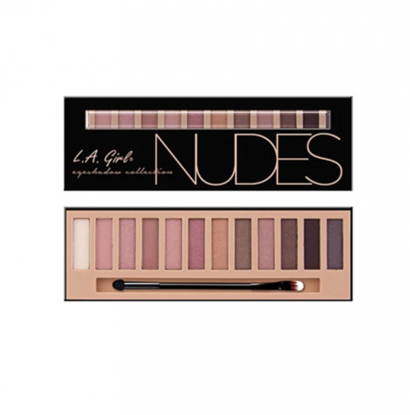c dòng phấn mắt L.A Girl Eyeshadow Collection Nudes.