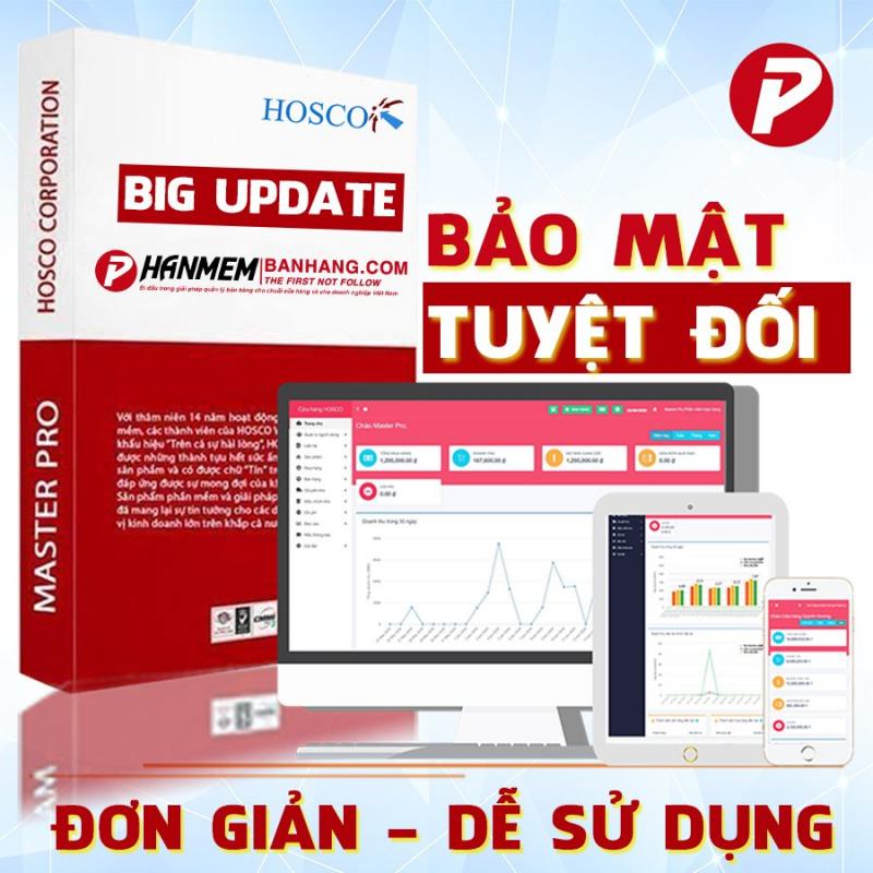 Phần mềm bán hàng Master Pro
