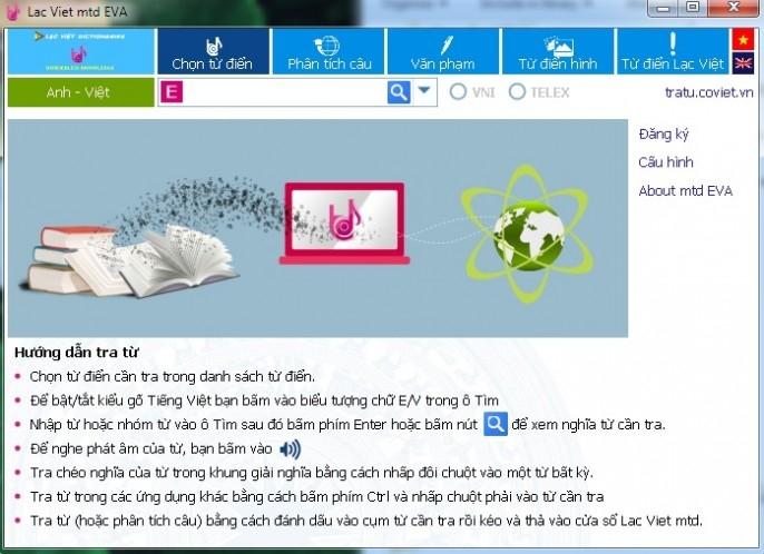 Phần mềm học tiếng anh Lạc Việt
