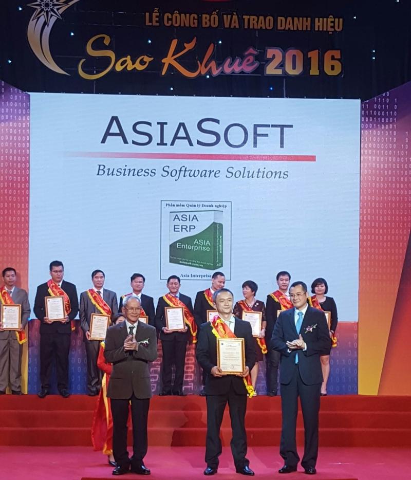 Phần mềm kế toán của công ty Asia