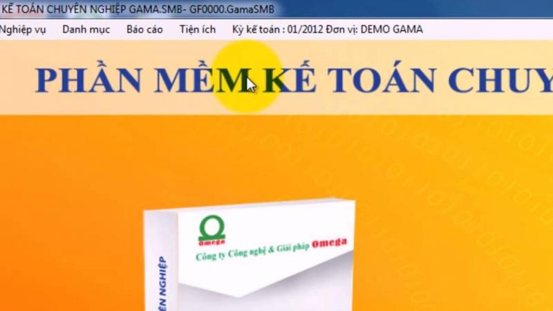 Phần mềm kế toán GAMA